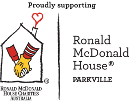 Logo RM House Parkville Proudly Supporting