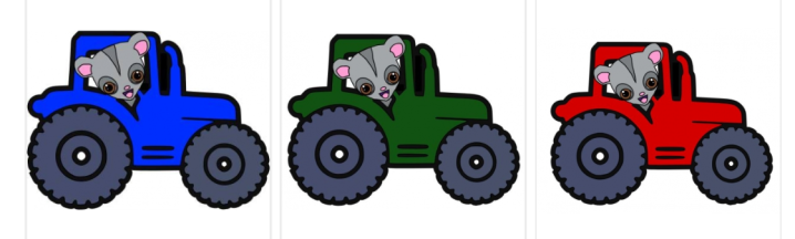 LE tractor coins